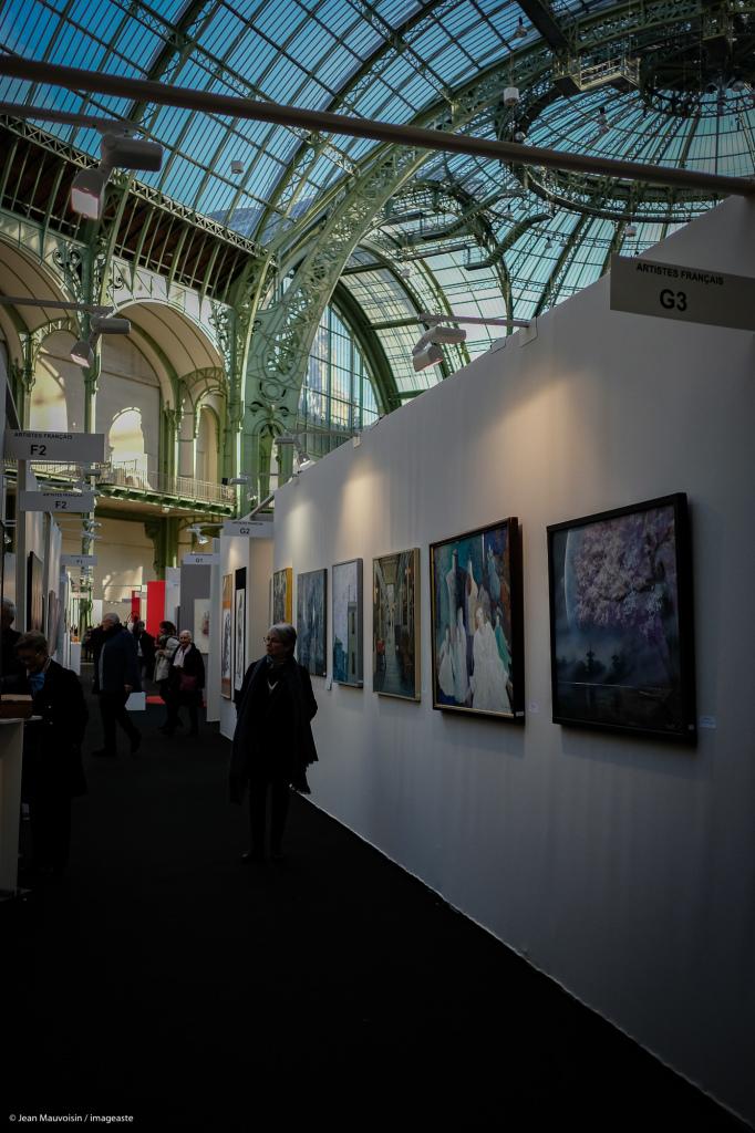 Art Capital - Vernissage 2019 - Salon des Artistes Français, Grand Palais, Paris © Imageaste-David Lebrun (15)