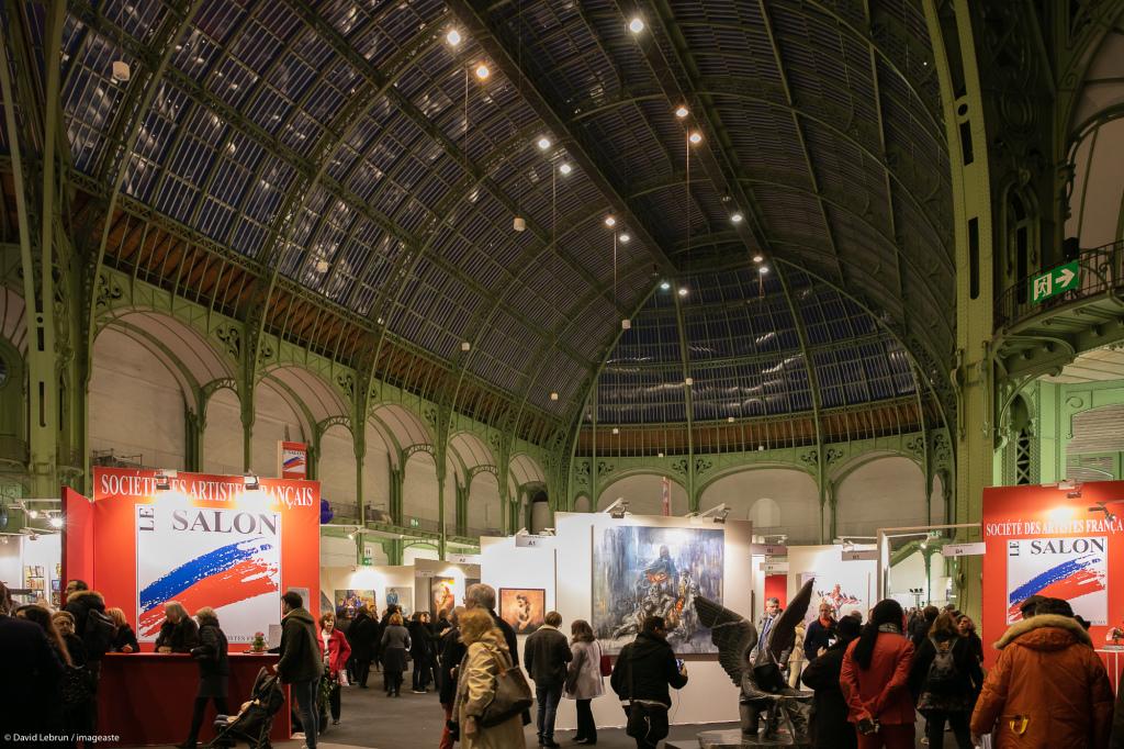 Art Capital - Vernissage 2019 - Salon des Artistes Français, Grand Palais, Paris © Imageaste-David Lebrun (17)