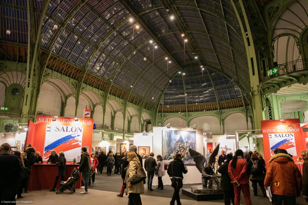 Art Capital - Vernissage 2019 - Salon des Artistes Français, Grand Palais, Paris © Imageaste-David Lebrun (18)