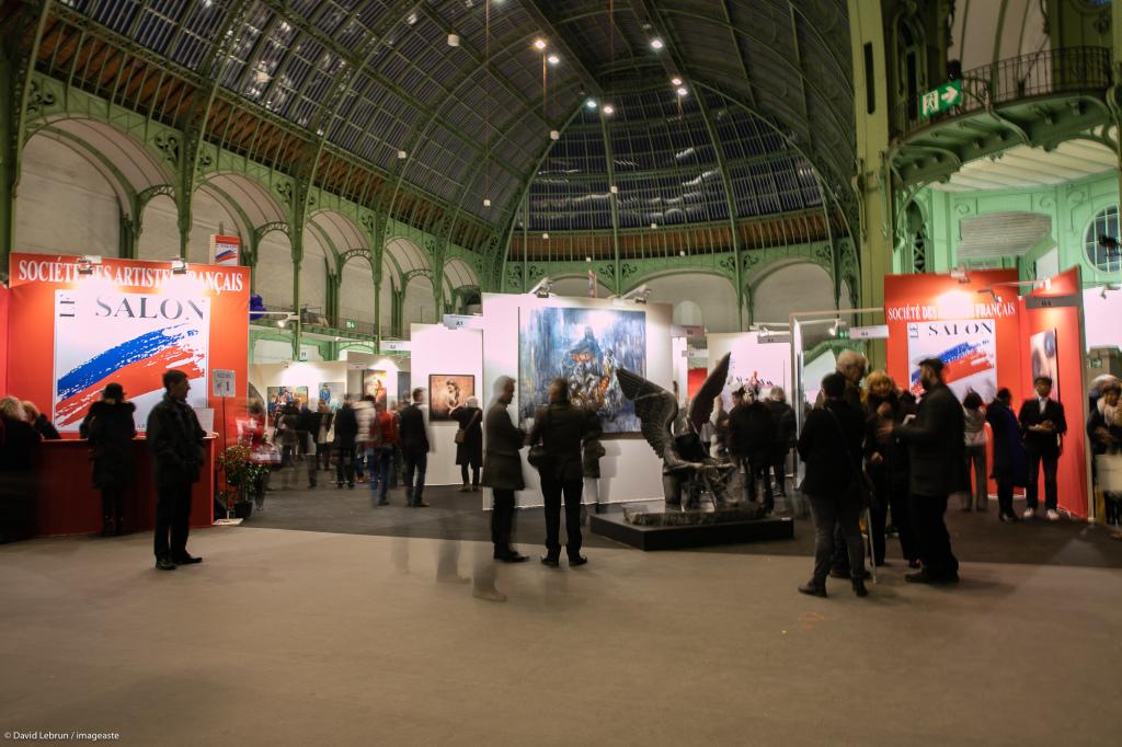 Art Capital - Vernissage 2019 - Salon des Artistes Français, Grand Palais, Paris © Imageaste-David Lebrun (19)
