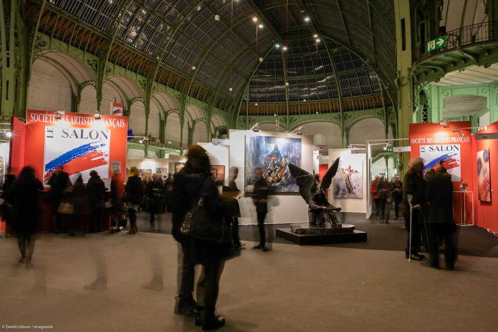 Art Capital - Vernissage 2019 - Salon des Artistes Français, Grand Palais, Paris © Imageaste-David Lebrun (20)