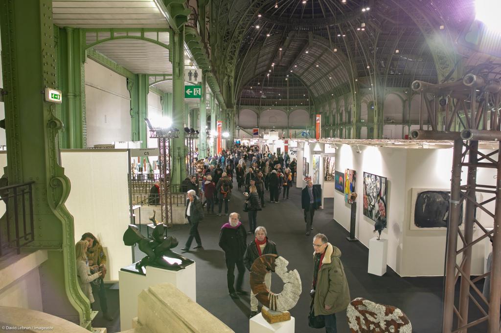 Art Capital - Vernissage 2019 - Salon des Artistes Français, Grand Palais, Paris © Imageaste-David Lebrun (22)
