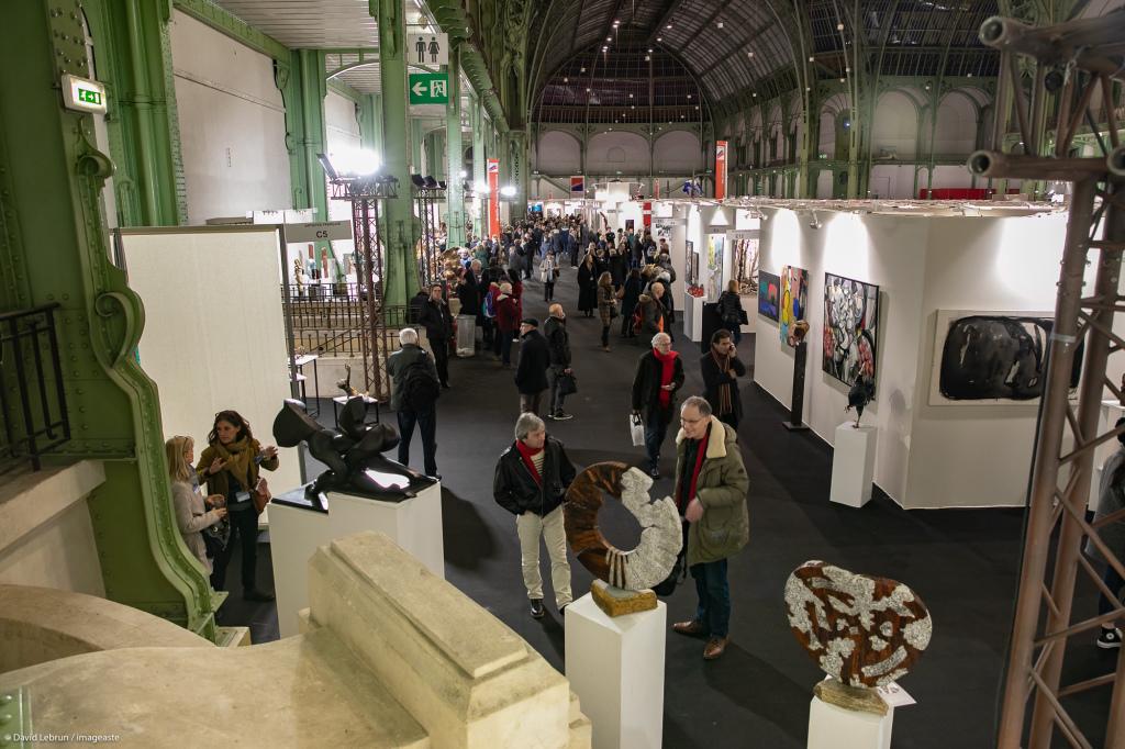 Art Capital - Vernissage 2019 - Salon des Artistes Français, Grand Palais, Paris © Imageaste-David Lebrun (23)
