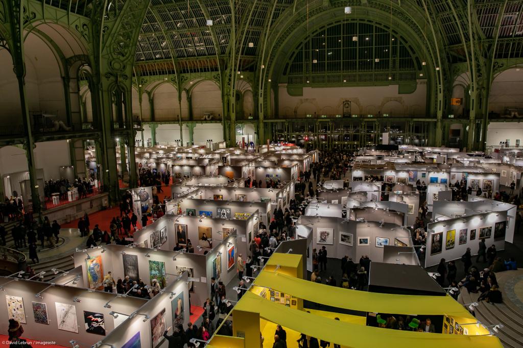Art Capital - Vernissage 2019 - Salon des Artistes Français, Grand Palais, Paris © Imageaste-David Lebrun (26)