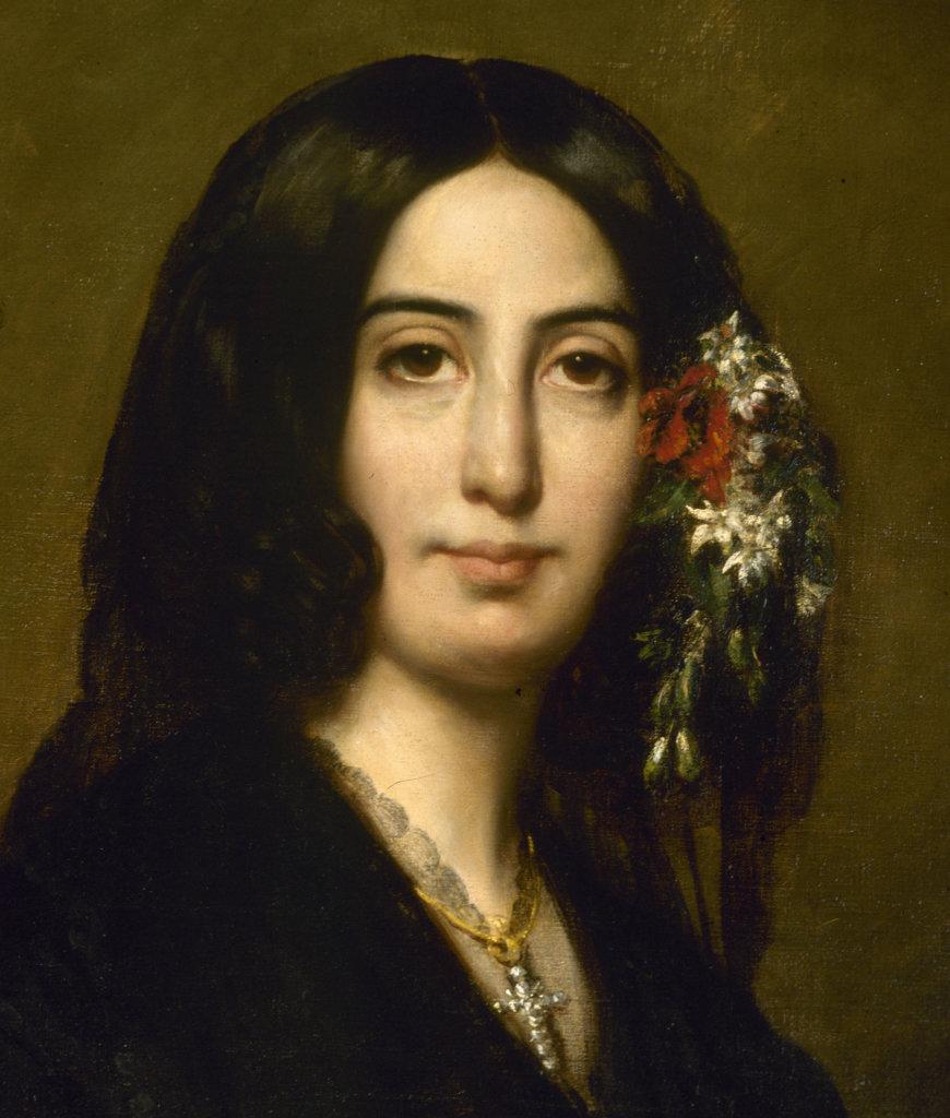 Auguste Charpentier, Portrait de George Sand