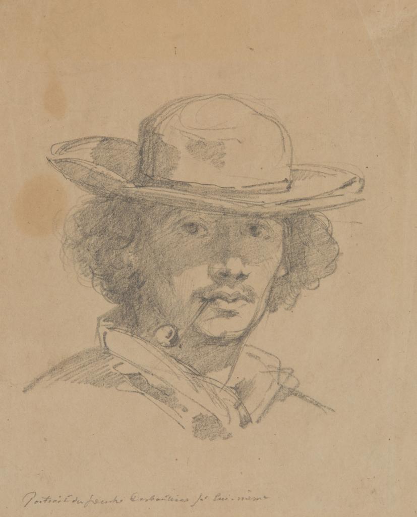 Marcelin Desboutin, Autoportrait