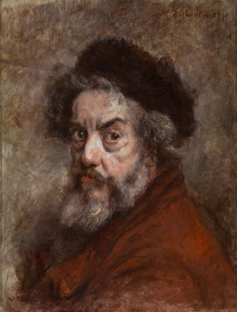 Marcellin Desboutin, Autoportrait, 1896