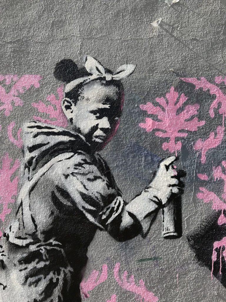 Banksy, Paris, 2018