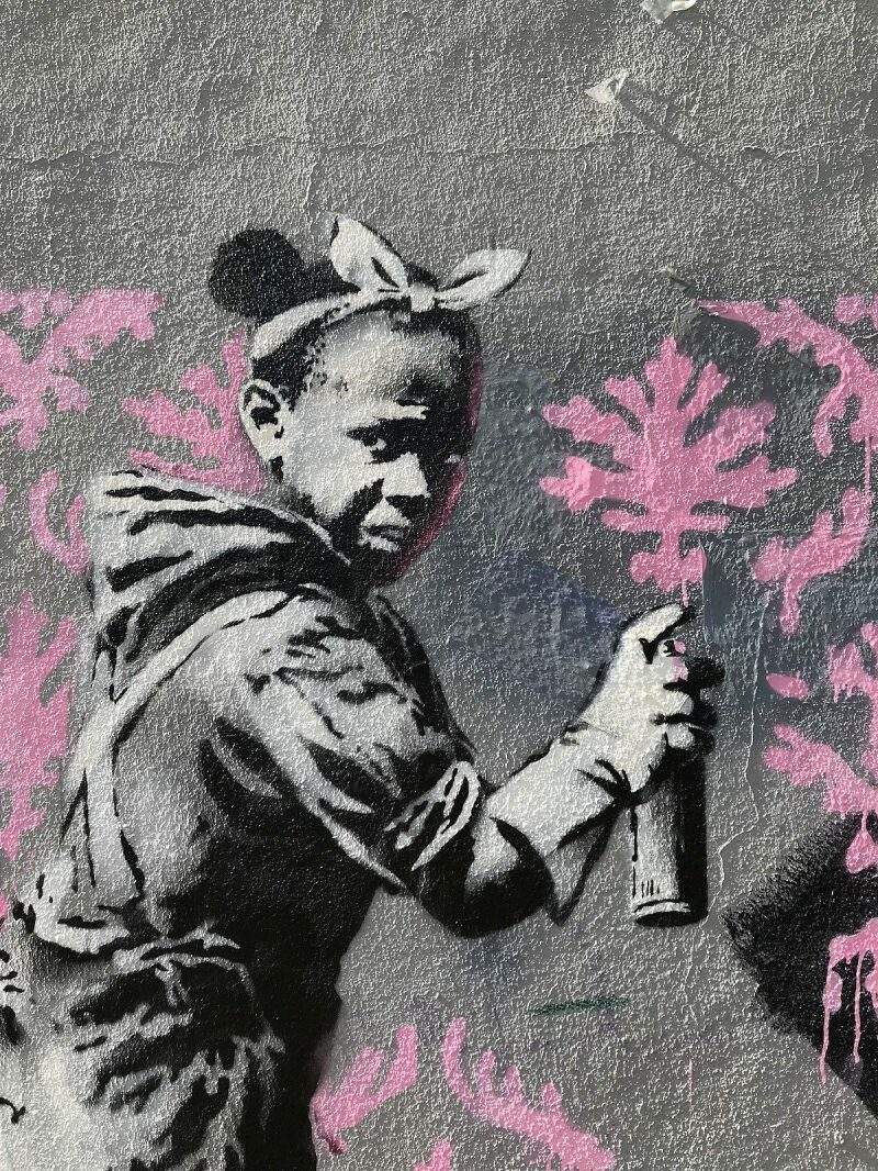 Banksy, Paris, 2018
