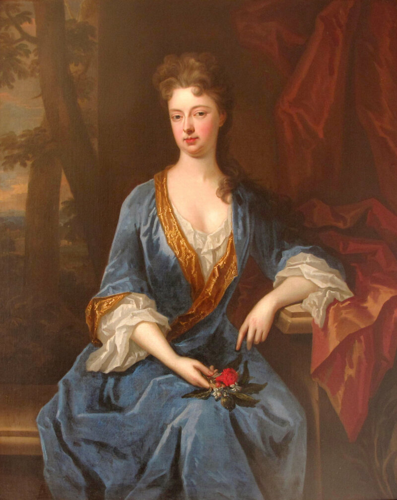 Charles D'Agar, Anne Bernard, Baroness Trevor, c.1720. Private collection