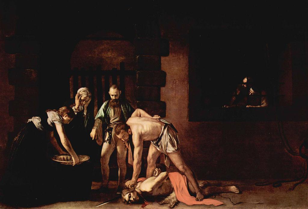 DÉCOLLATION DE JEAN-BAPTISTE (1608), Le Caravage © Tous droits réservés