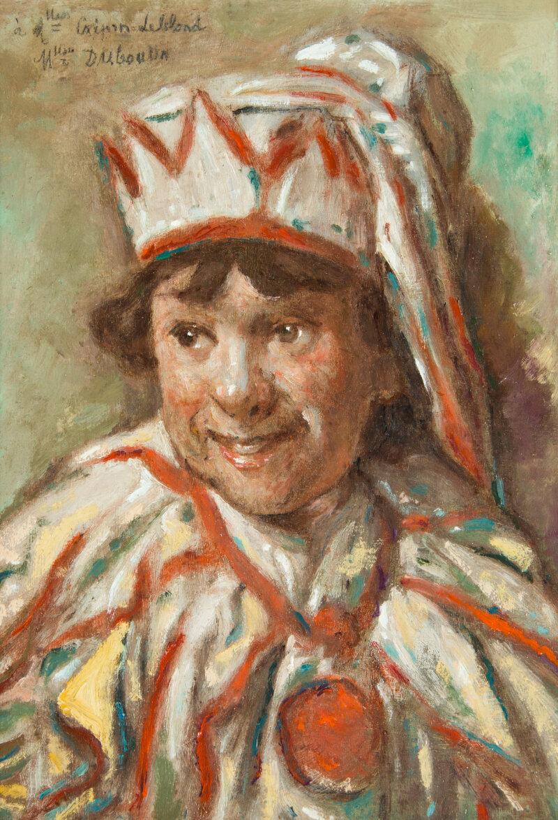 Marcelin Desboutin, Enfant déguisé