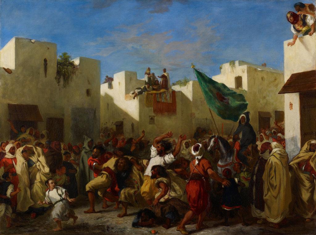 Eugène Delacroix, Les convulsionnaires de Tanger