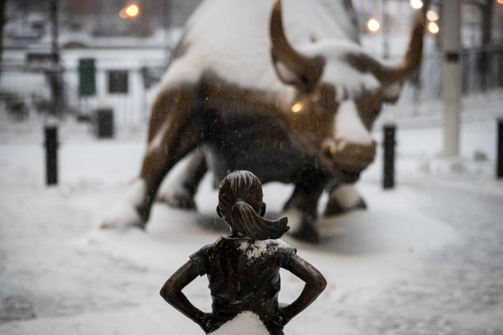 Fearless Girl, USA © tous droits réservés