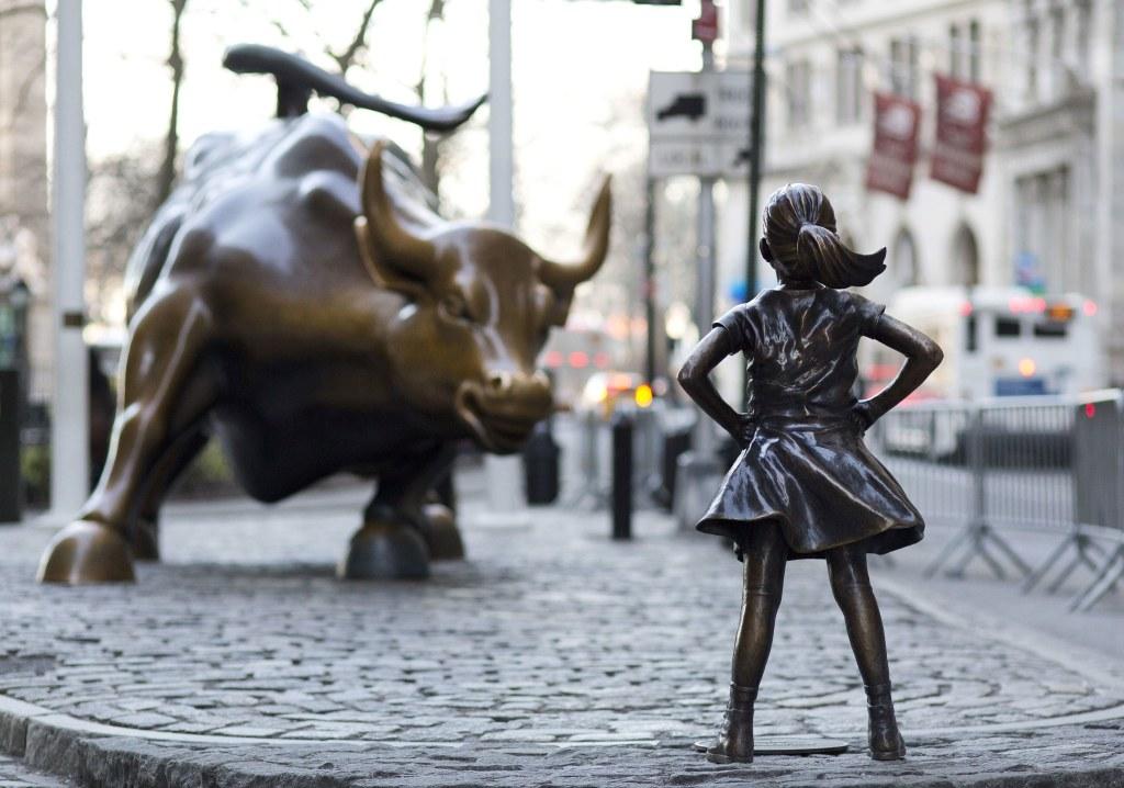 Fearless Girl, Wall Street, © tous droits réservés