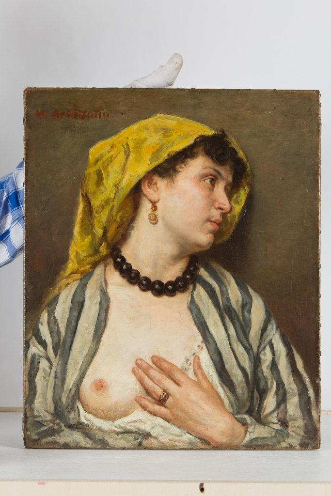 Marcelin Desboutin, Florentine au sein nu