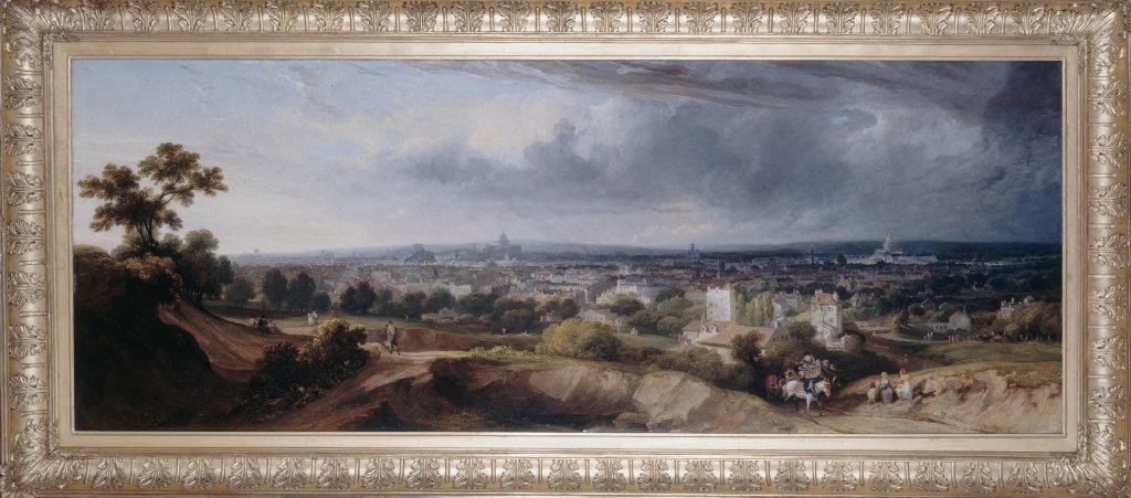 Georges Arnald, Paris vu des hauteurs de Montmartre