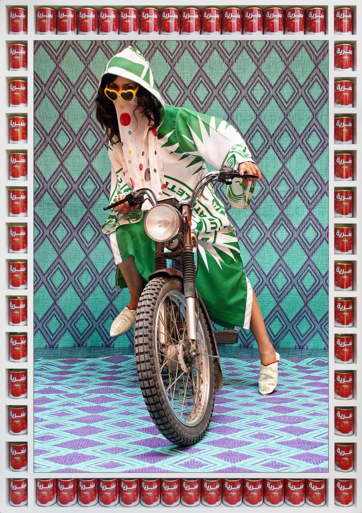 Hassan Hajjaj M. De la série «Kesh Angels »