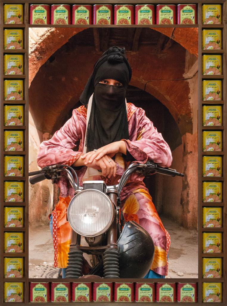 Hassan Hajjaj The Wild One De la série «Kesh Angels »