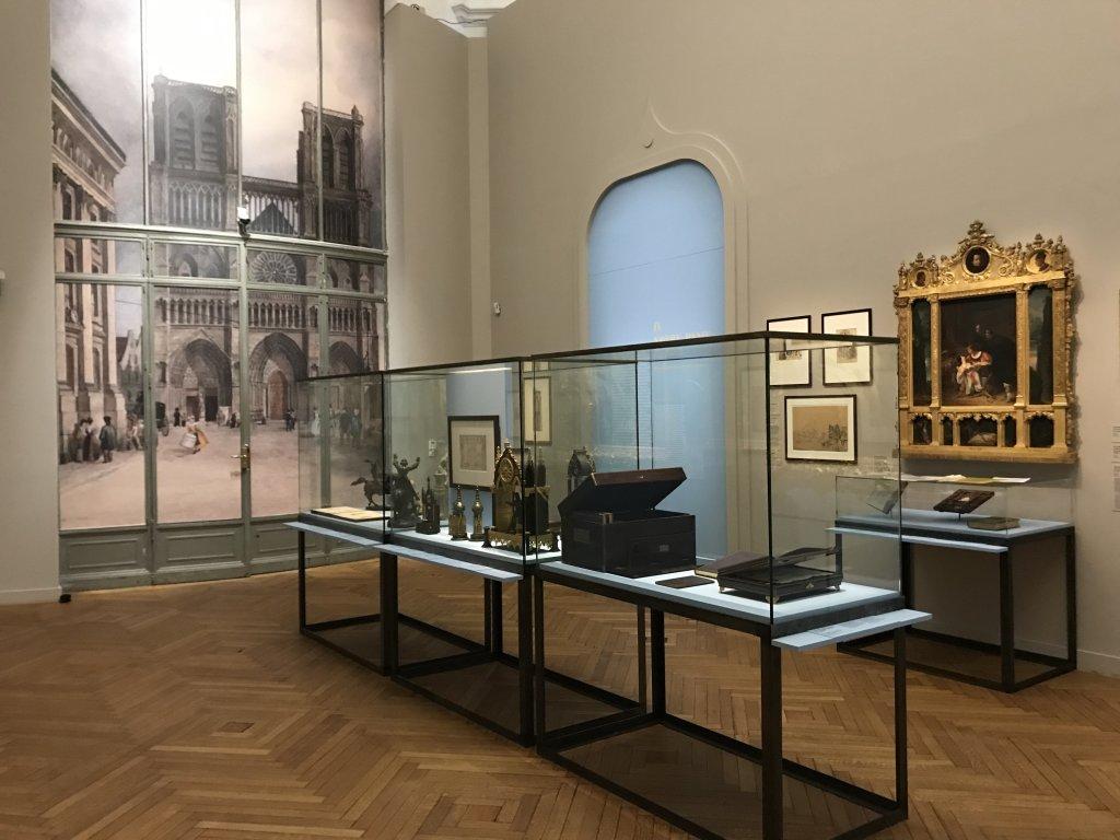 Vue de l'exposition Paris romantique au Petit Palais, Paris