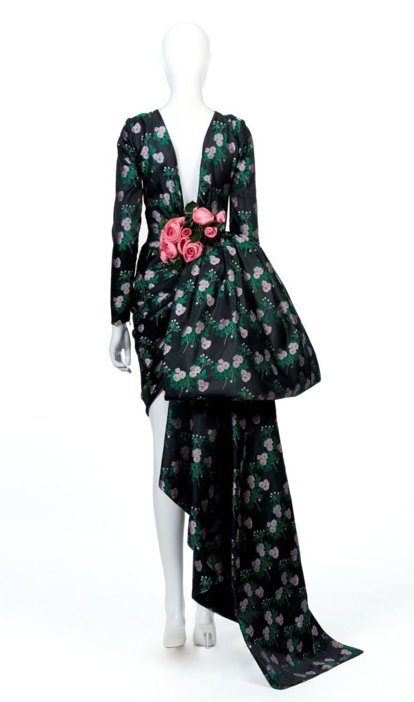 Jean Patou par Christian Lacroix, Robe du soir, Haute couture, Automne-Hiver 1986-87 Jean Patou by Christian Lacroix, Evening gown, Haute couture, Fall-Winter 1986-87