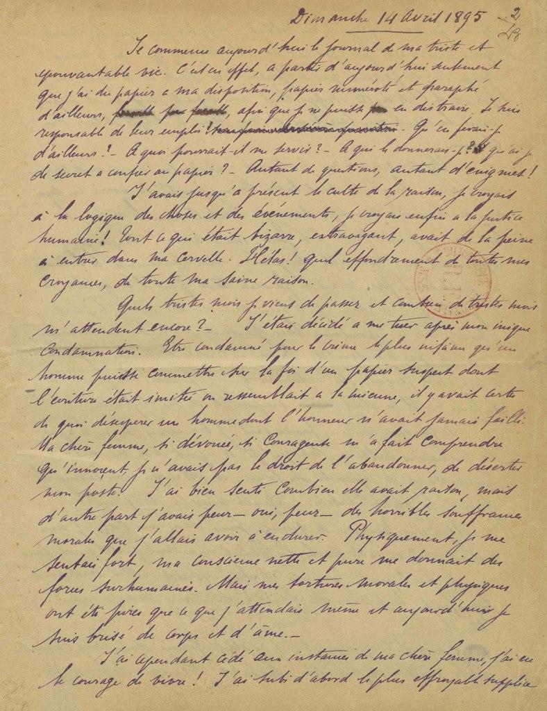 journal de Dreyfus