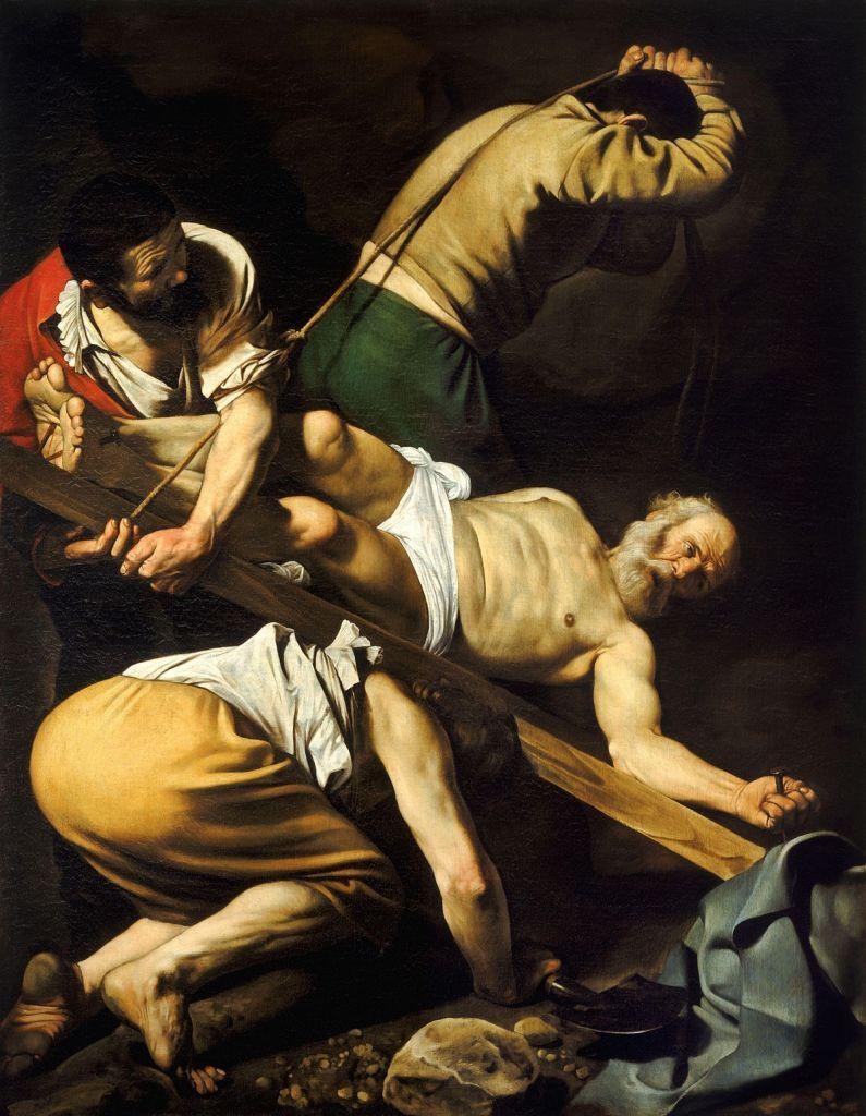 LE CRUCIFIEMENT DE SAINT-PIERRE (1600), Le Caravage © Tous droits réservés