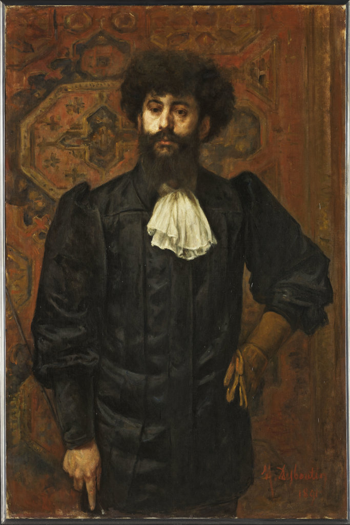 Marcelin Desboutin, Le Sar Joséphin Péladan