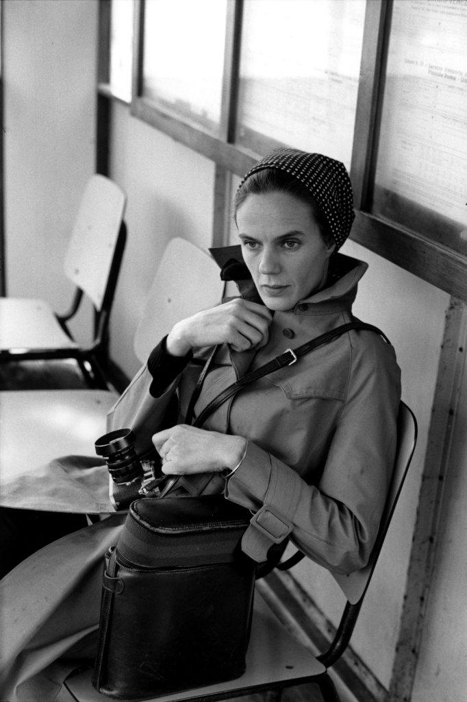 Martine Franck photographiée par Henri Cartier-Bresson, Venise, Italie, 1972