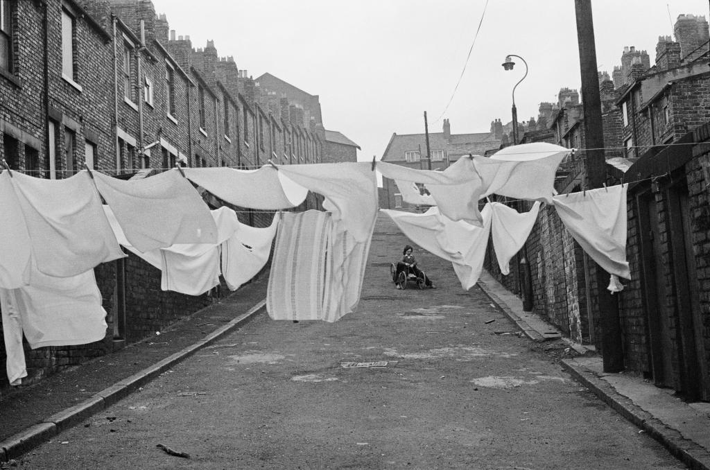 Quartier de Byker, Newcastle upon Tyne, Royaume-Uni, 1977