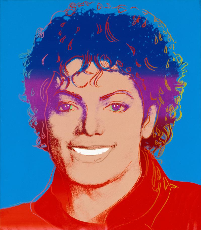 Michael Jackson by Andy Warhol