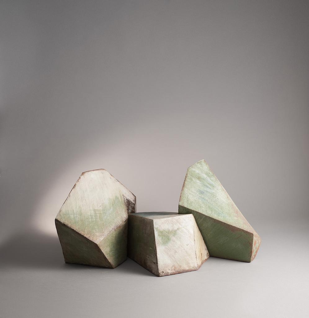Mireille Moser, Céramique 2018, Imbrications