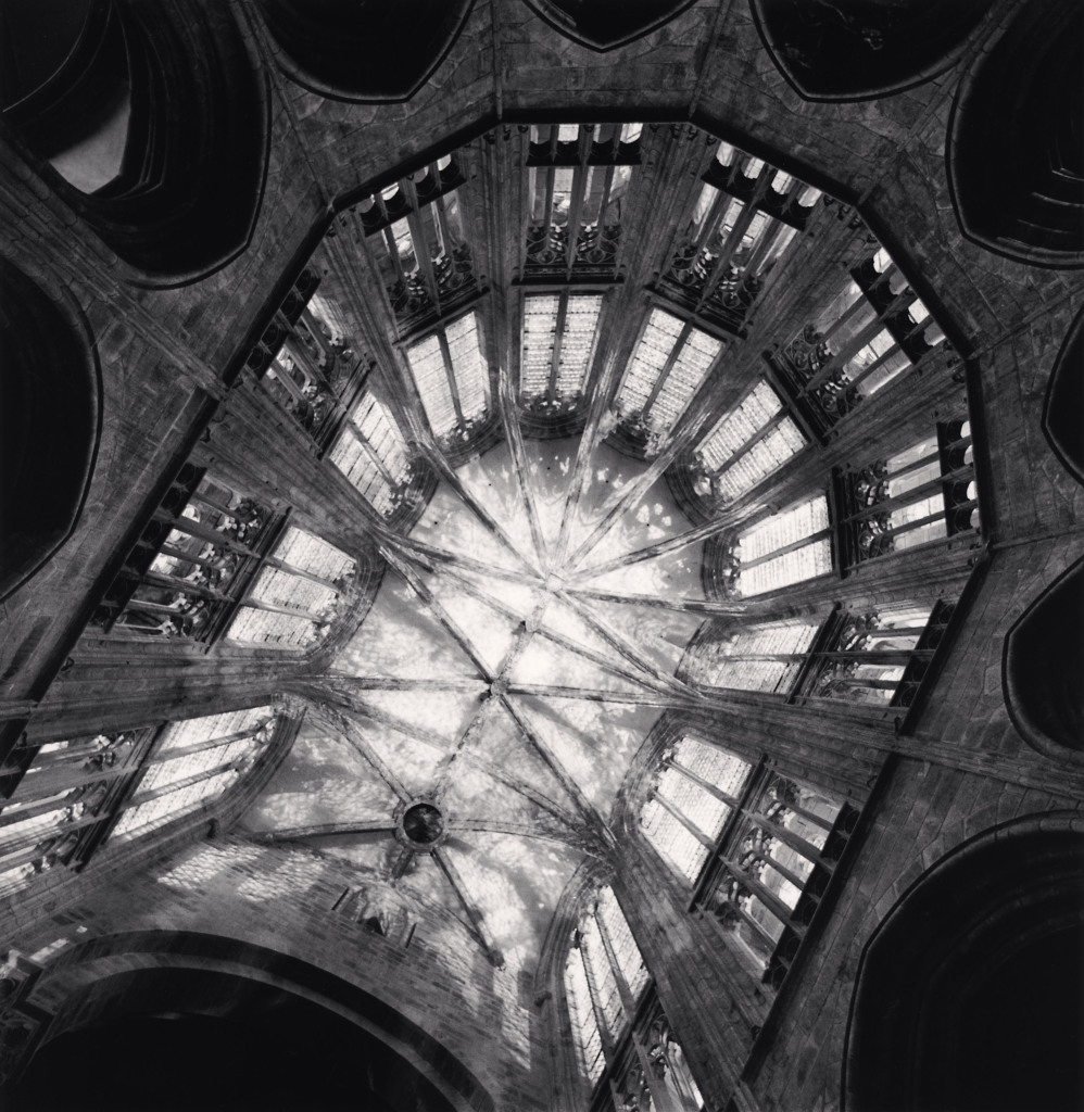 Michael Kenna, Abbey Choir, Study 1 - Mont St. Michel