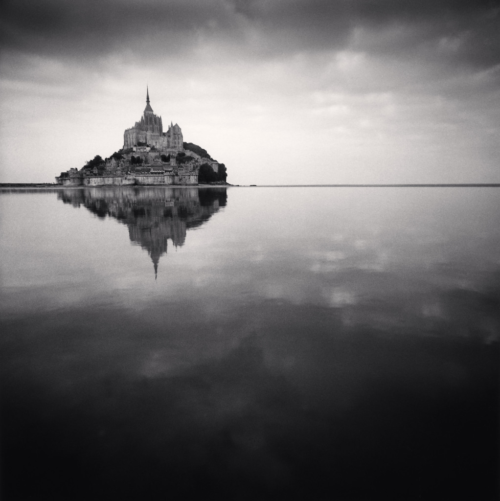 Michael Kenna, Floating Abbey - Mont St. Michel