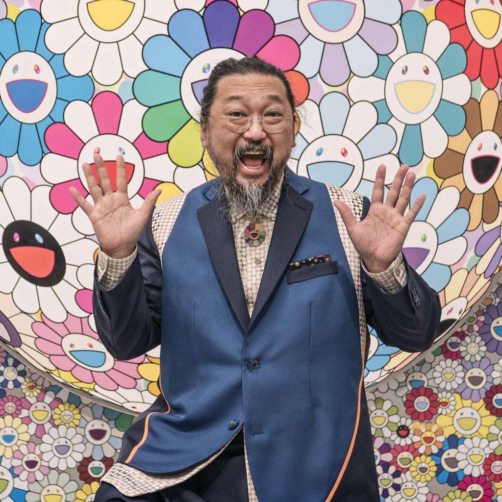 Murakami © Fondation Louis Vuitton et Martin Raphaël Martiq