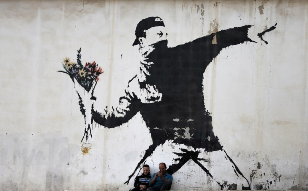 Banksy, tous droits réservés