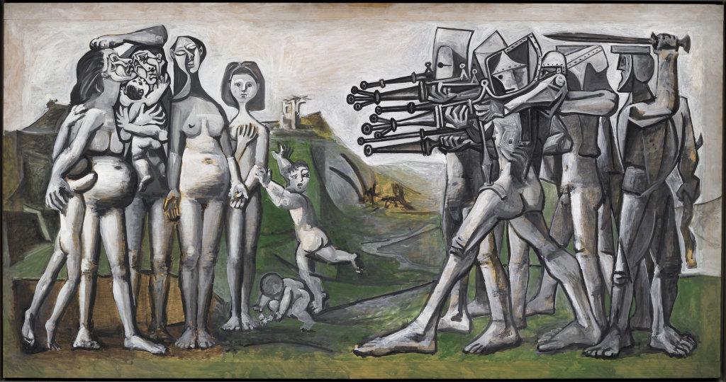 Pablo Picasso (1881-1973), Massacre en Corée