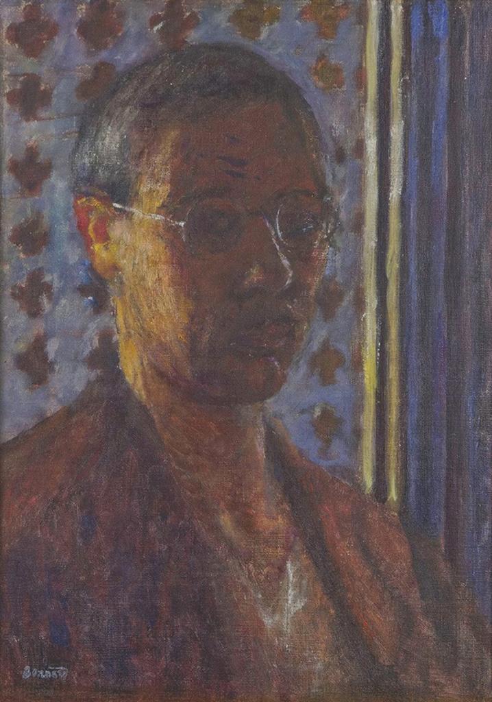 Pierre Bonnard, Autoportrait à contrejour