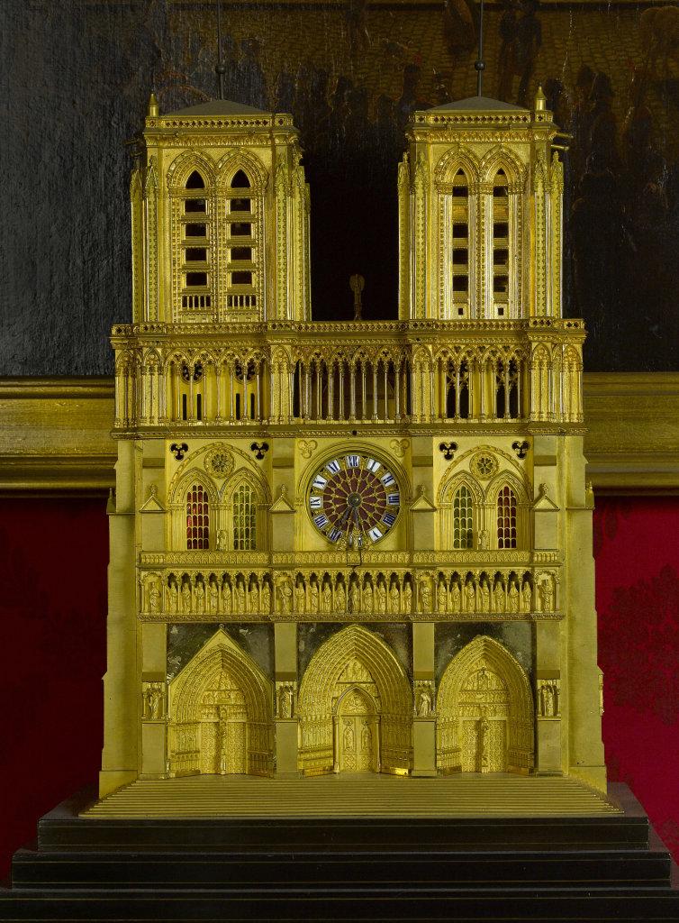 Pendule de Notre-Dame de Paris