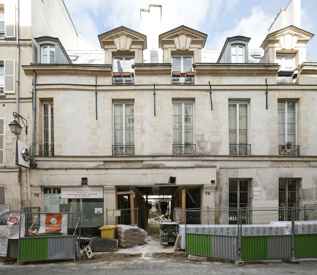 Fondation HCB, 79 rue des Archives, mars 2018