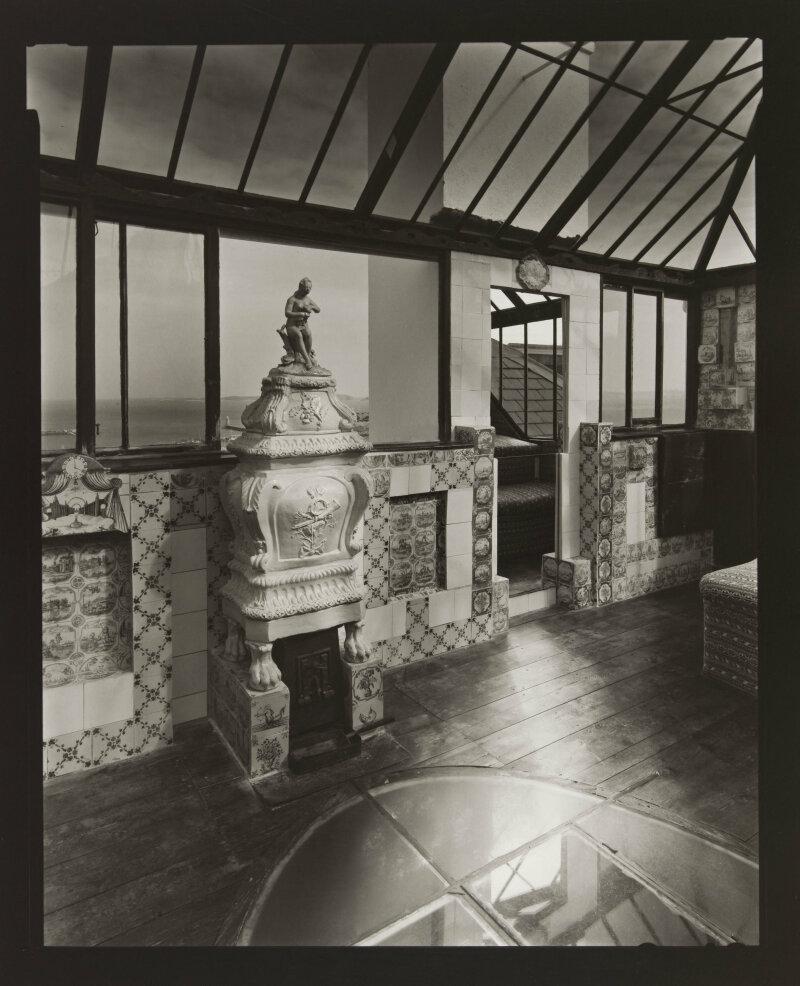 Le look-out, Hauteville house. Jeudi 5 mars 1998, 13h. Photographie de Olivier Mériel (né en 1955). Paris, Maison de Victor Hugo.