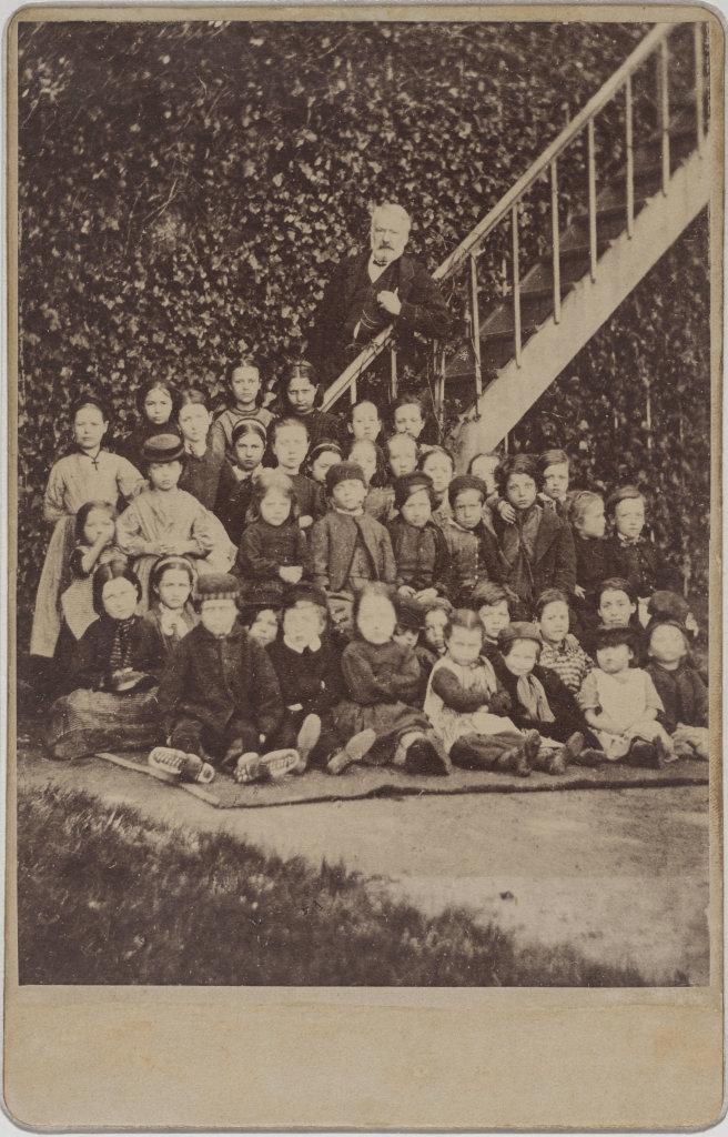 Victor Hugo et les enfants pauvres à Hauteville House