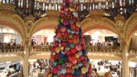 Sapin de Noël, Galeries Lafayette, tous droits réservés