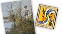 Tableau de Fernand Léger, contrefaçon