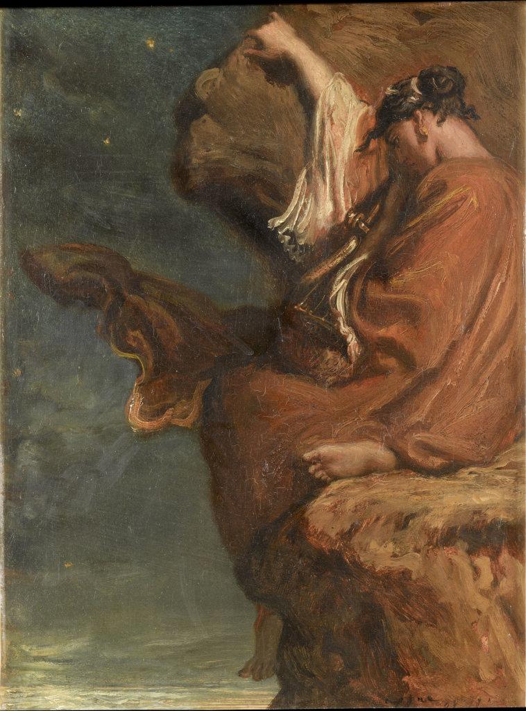 Théodore Chassériau, Sapho, 1849