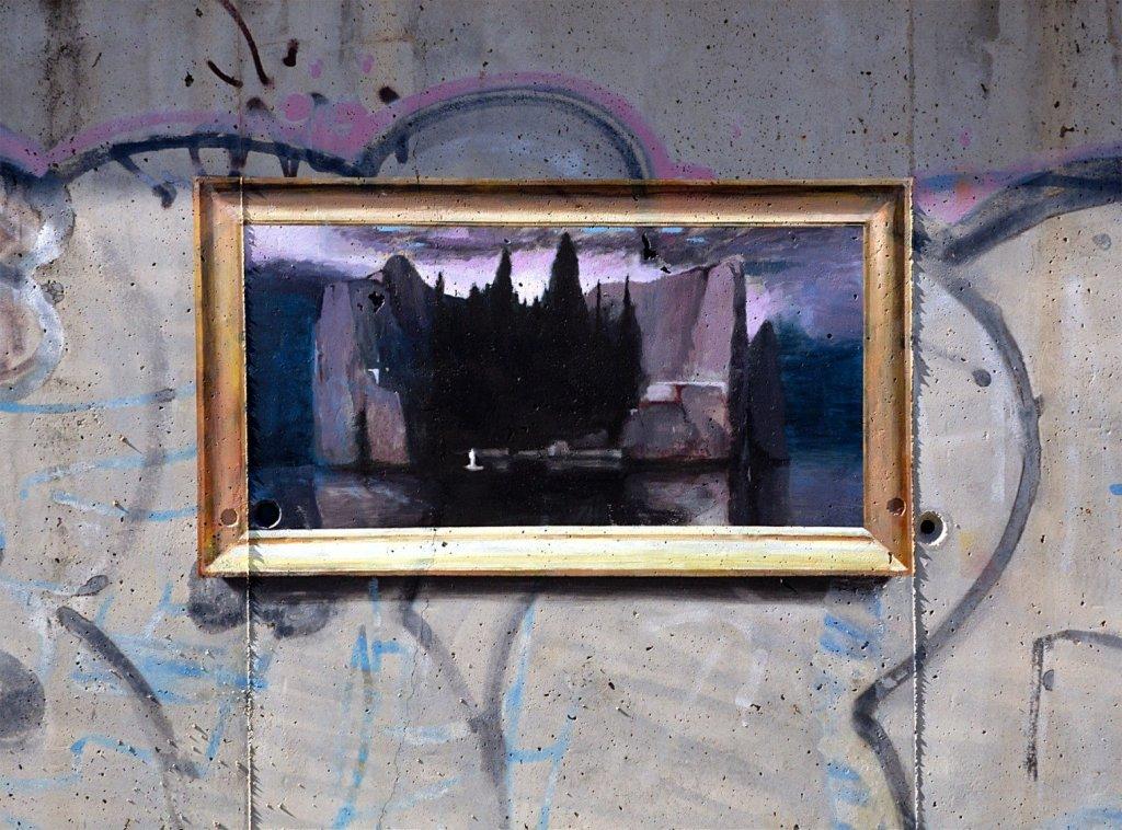 Trompe l'oeil peinture Julio Anaya Cabanding