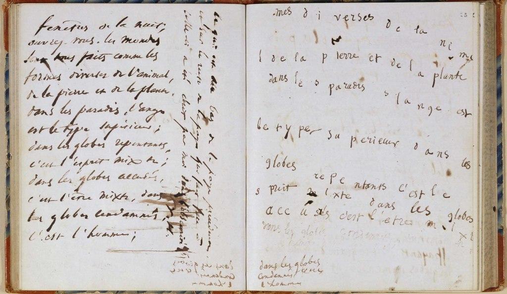 Victor Hugo, carnet de séance spirites