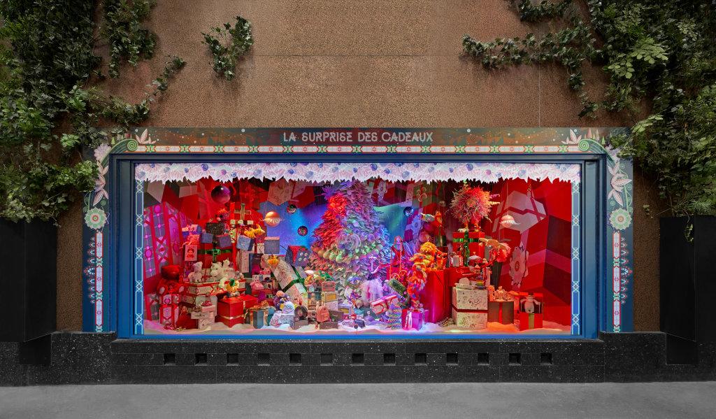 Vitrine, Galeries Lafayette