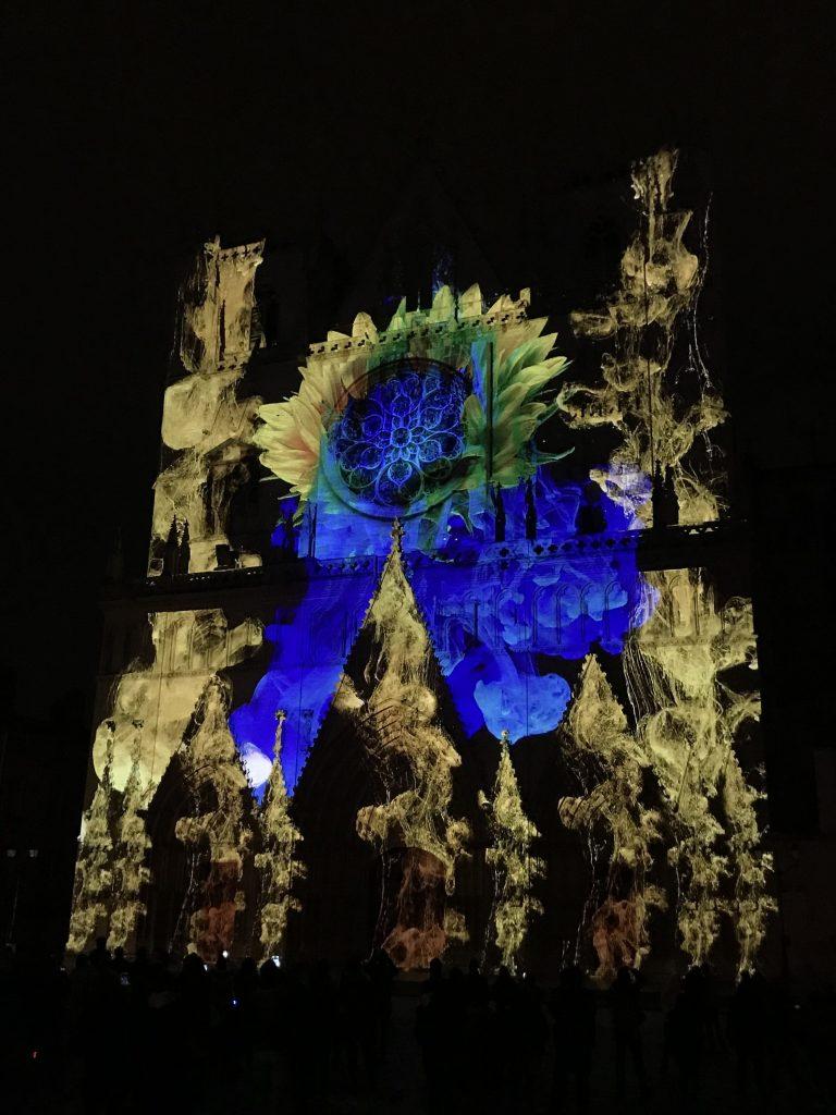 Vue de la Fête des Lumières, Lyon 2018 (1)