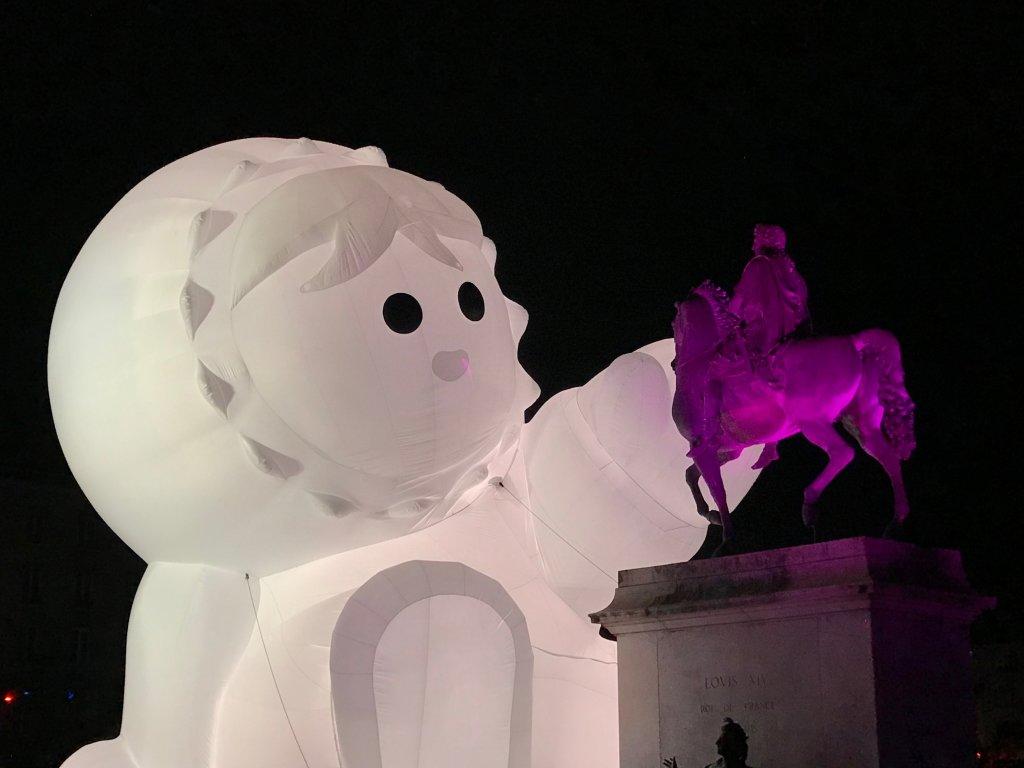 Vue de la Fête des Lumières, Lyon 2018 (30)